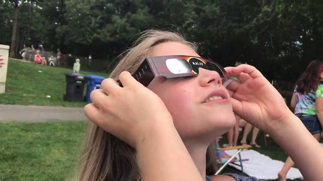 Eclipse is a science lesson for these Scouts