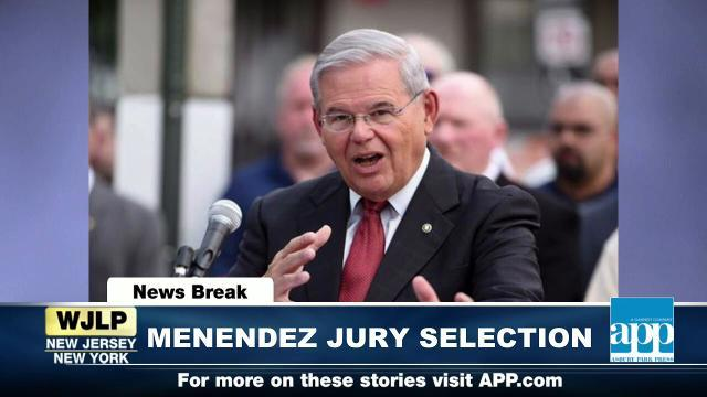 NewsBreak: Senator Menendez's jury selection