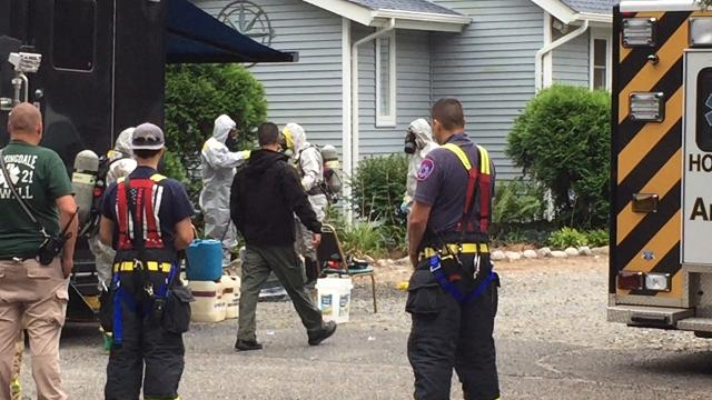RAW: Birdsall Road drug investigation