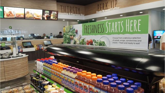 """QuickChek continues to redefine """"fresh convenience"""" as it celebrates its 50th anniversary. Taking its ability to provide fresh products and food-to-go to a whole new level, the Whitehouse Station-based chain opened its 150th store Tuesday. The new QuickChek on Applegarth Road in Monroe is the first to reflect the new concept."""