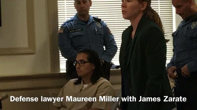 Convicted killer James Zarate wanted a waiver that triggered his prosecution as an adult for the murder of Jennifer Parks in Randolph, NJ vacated so he could be sentenced as a juvenile.