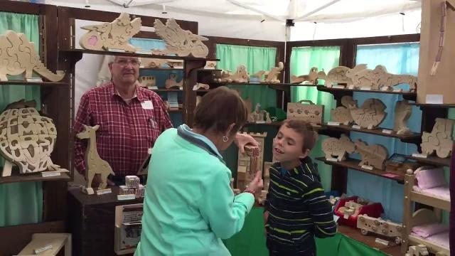 From local raw honey to hand crafted night lights, there was something for everyone Saturday.  9/9/17