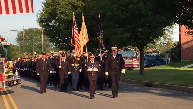 Boonton native and New York City Firefighter John Fila, spared death on 9/11, urges remembrances, caring and involvement in community.