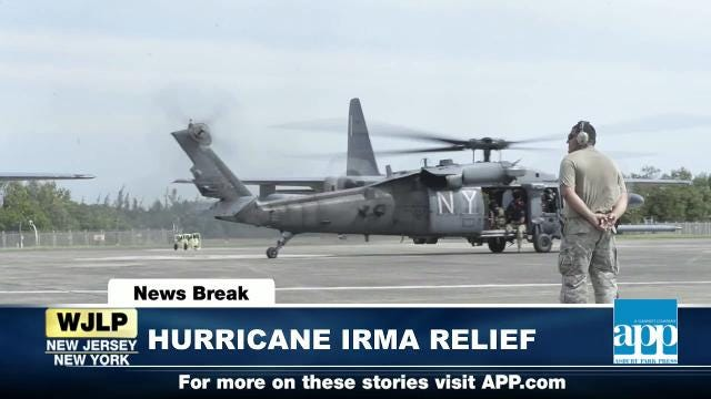 NewsBreak: NY National Guard aids Irma relief