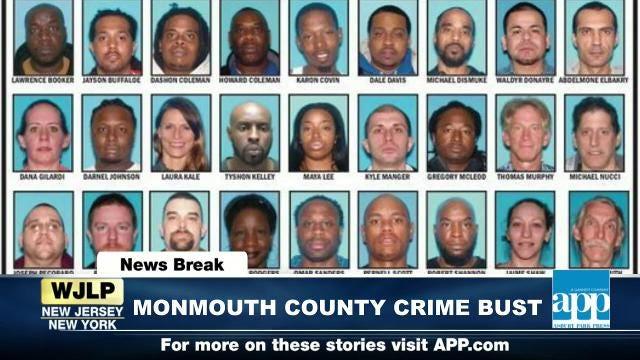 NewsBreak: Monmouth County crime bust