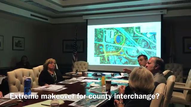 The Morris County Freeholders are studying proposals for a redesign of the traffic-packed interchange at Route 24, Columbia Turnpike and Park Avenue in Morris Township, Florham Park and Hanover. IPHONE VIDEO BY WILLIAM WESTHOVEN SEPT. 13, 2017