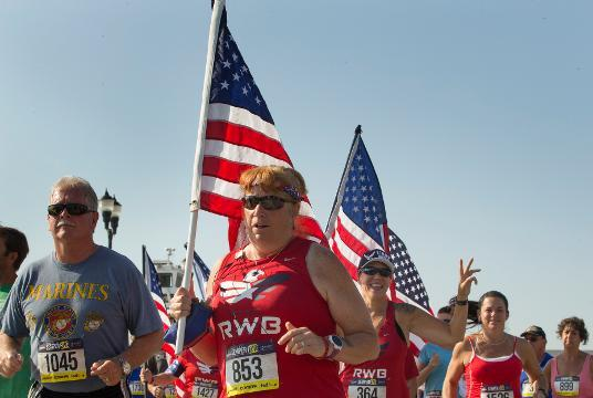 Marine Semper Fi races return to Jersey Shore one year after bombing