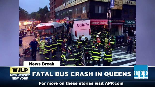 NewsBreak: Fatal Queens bus crash prompts investigation