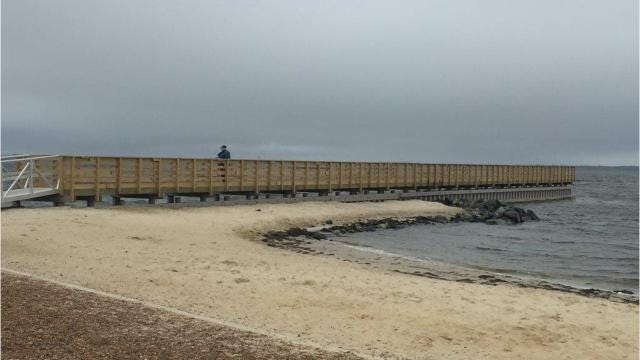 Butler Beach refurbished after Sandy
