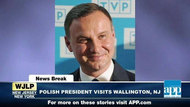 NewsBreak: Polish President to visit Wallington, NJ