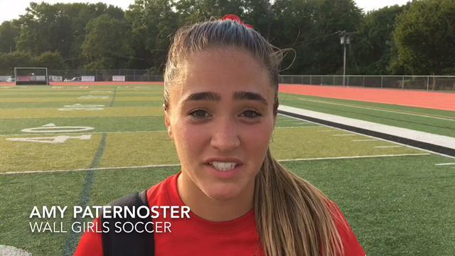 WATCH: Wall's Amy Paternoster talk about her game-winning goal on Sep. 12