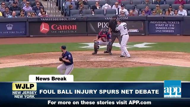 NewsBreak: Todd Frazier's foul ball sparks MLB debate