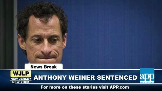 NewsBreak: Anthony Weiner sentenced to prison