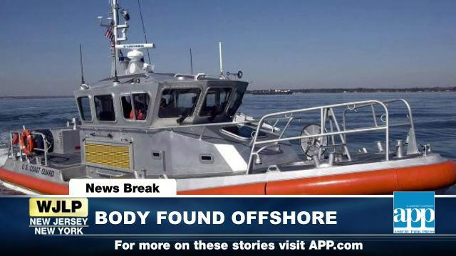 NewsBreak: Body found off Jersey Shore