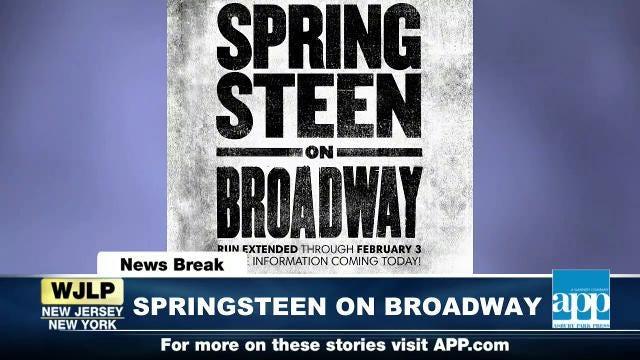 NewsBreak: Springsteen on Broadway