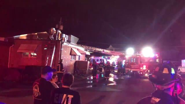 A kitchen fire forced the evacuation of the historic Reservoir Tavern restaurant Thursday night. Oct. 5, 2017