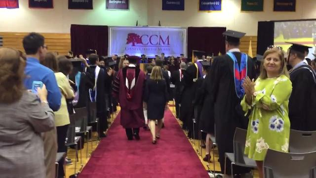 WATCH: County College of Morris welcomes new president