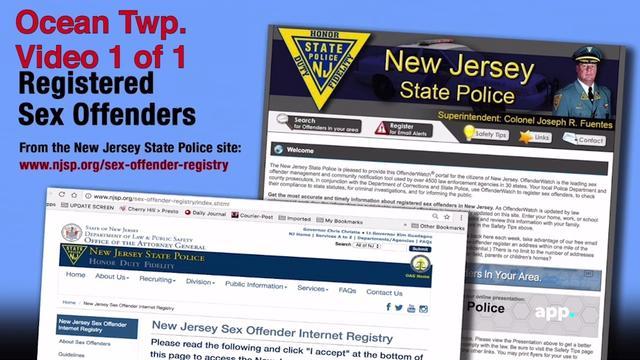 Nj state police sex offender