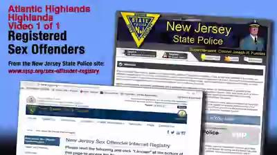 Registration sex new jersey requirements offender