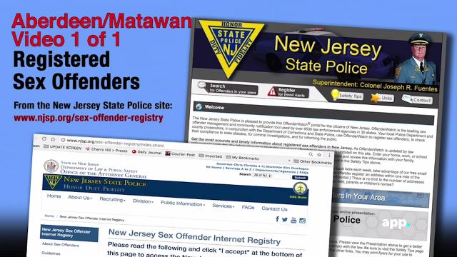 Nj state police sex offenders list
