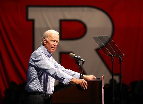 VIDEO: Joe Biden brings sex assault talk to Rutgers University