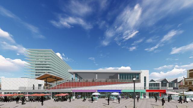 Asbury Park Boardwalk Pavilions Getting New Restaurants Stores