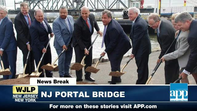 NewsBreak: NJ Portal Bridge project; Navy's 242nd birthday