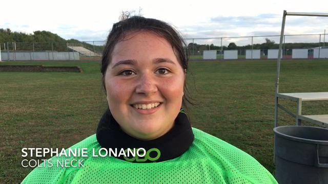 WATCH: Colts Neck's Stephanie LoNano shares her enthusiasm about the Cougars season