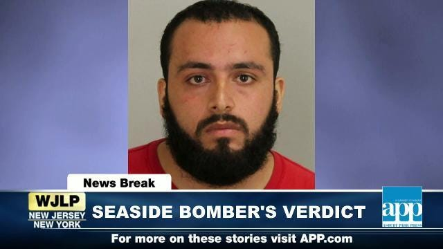 NewsBreak: Seaside Bomber verdict