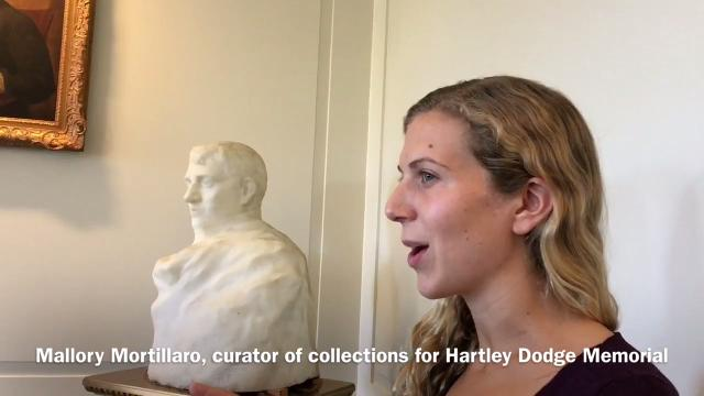 WATCH: Spectators marvel at Rodin sculpture of Napoleon in Madison