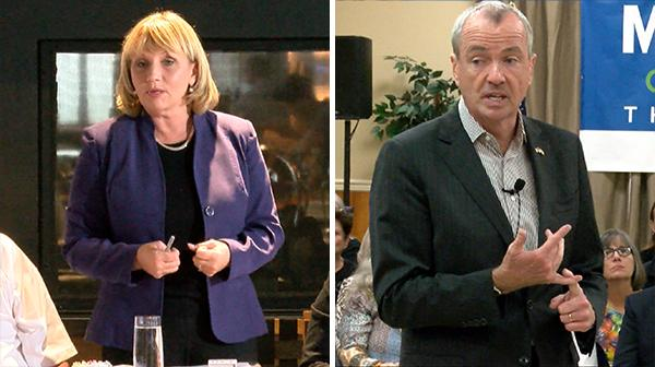 Murphy & Guadagno make appearances on Sandy anniversary