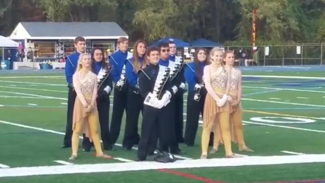 The Pequannock Township High School Marching Band members are national champions, winning the title Sunday at Birney Crum Stadium in Allentown, Pennsylvania.