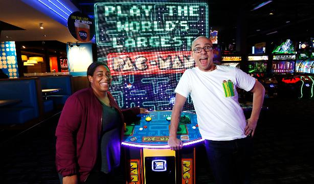 VIDEO: Fan Theory podcast visits Dave and Busters in Woodbridge