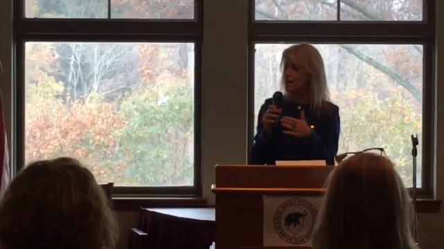 Kellyanne Conway stopped by Branchburg to speak to Central Jersey Republican women and business owners about the GOP tax package.