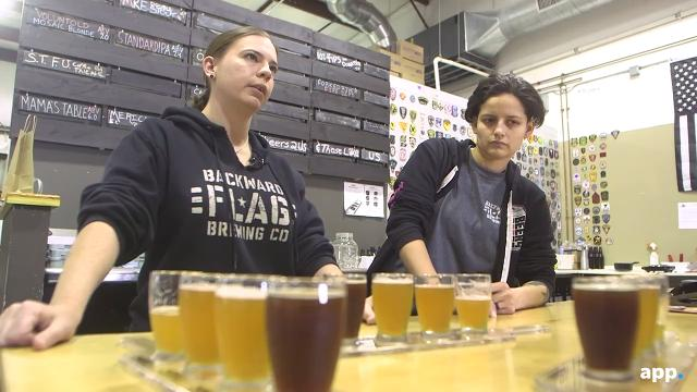 This woman owned, military inspired brewery explodes with craft beer goodness.