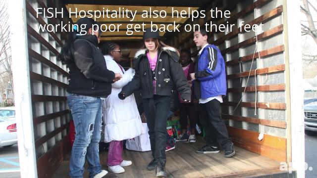Help FISH Hospitality help homeless single mothers and their children