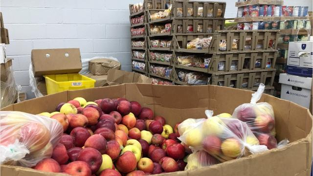 The Franklin Food Bank seeks monetary donations to continue to provide food to Franklin residents with dignity and respect