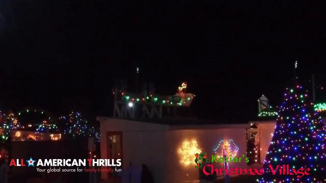 watch koziars christmas village in lehigh valley