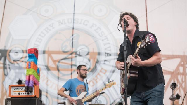 Jersey rockers the Front Bottoms are bringing the party to the Asbury Park Boardwalk on Saturday, Dec. 16.