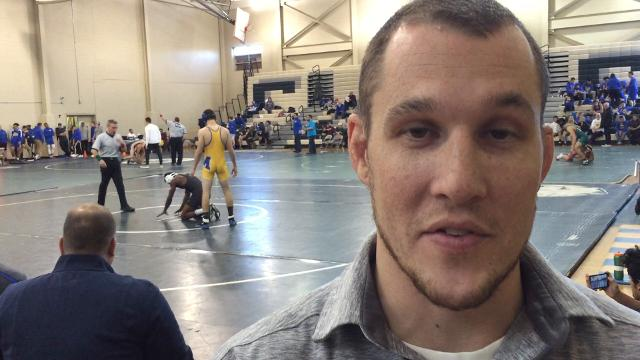 Sayreville head wrestling coach Marcus Ivy discusses the Bombers' start to the 2017-18 season