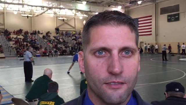 Manville head wrestling coach Pat Gorbatuk discusses the Mustangs' start to the 2017-18 season