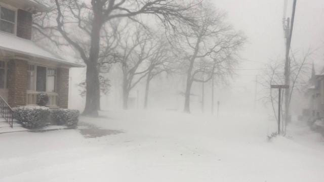 Raw video: Blizzard in Ocean Grove