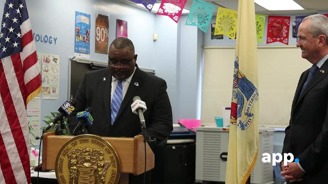 WATCH: Asbury Park superintendent speaks after being named education chief