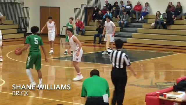 WATCH: The highlights from Wall boys basketball vs Brick