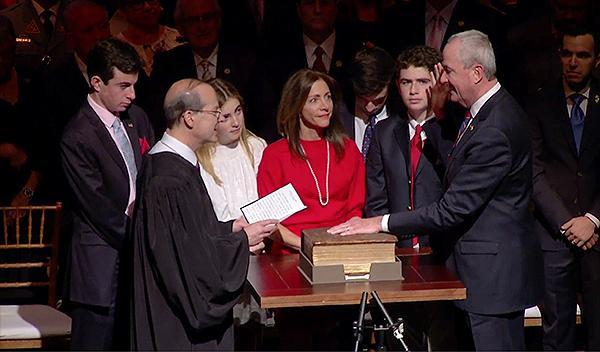 Phil Murphy takes oath as New Jersey's 56th Governor