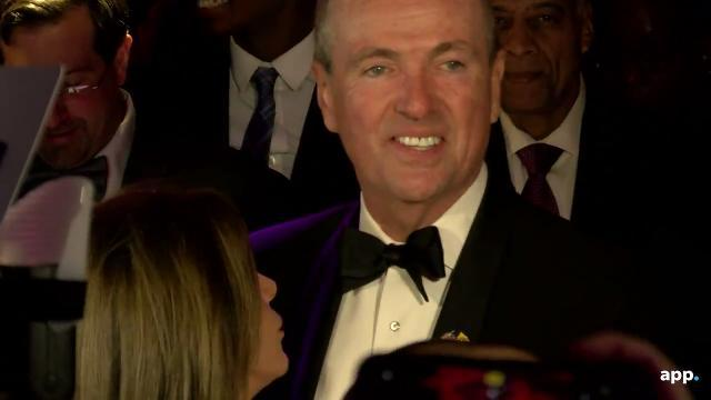 NJ Governor Murphy at the Inaugural Ball