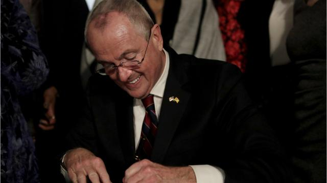 New Jersey governors and their salary