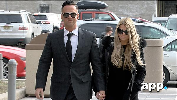 """MTV 'Jersey Shore' cast member Michael """"The Situation"""" Sorrentino arrives in Federal Court in Newark, NJ, for change-of-plea hearing to plead guilty to violating federal tax laws."""
