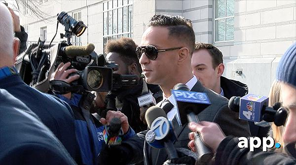 MTV 'Jersey Shore' cast member Mike 'The Situation' Sorrentino pleads guilty in Federal Court in Newark, NJ, to one count of tax evasion.  Sorrentino may face up to 5 years in prison and will also be required to pay $123,000 in restitution.