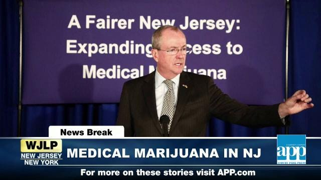 NewsBreak: Murphy expands NJ medical marijuana